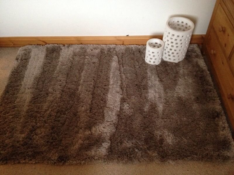 Next Fine Sparkle Rug In Mink Colour 150cm X 40cm Rox From A Smoke Free Home