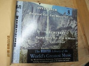 16LP set-The Webster Library of The Worlds Greatest Music 1977 London Ontario image 9