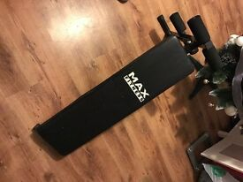 Max fitness ab bench