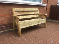 Brand new Wooden bench