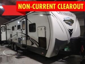 2016 Outdoors RV Creek Side 27BHS   - $185 BW