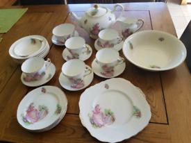 "Imperial Bone China Tea set ""Pinkie"""