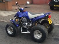 Road legal quad bike Apache 250 not Quadzilla Yamaha raptor Suzuki sport