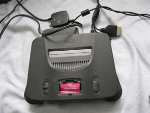 x Nintendo 64 with all cables and controller or best offer