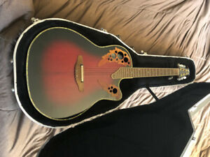 Ovation Celebrity Deluxe CDX-44 acoustic/electric guitar