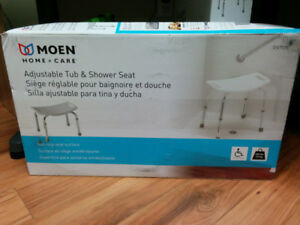 MOEN Adjustable Tub and Shower Seat