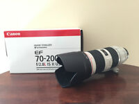 Canon EF 70-200mm F/2.8 IS II USM Excellent Condition Like New
