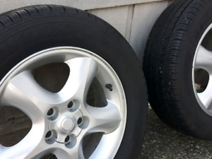 Hankook tires with Ford rims from mercury stabel