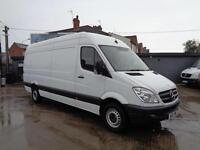 MERCEDES-BENZ SPRINTER 2.1 TD | 313 | LWB - HIGH ROOF | 1 OWNER | 2012 MODEL