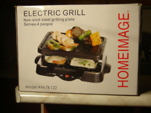 BRAND NEW NEVER OPENED INDOOR HOMEIMAGE ELECTRIC GRILL!