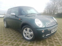 Mini Mini 1.6 CVT One, Automatic, SATNAV, F/S/H.