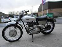 1955 TRIBSA 500cc JUST NEEDS FEW JOBS TO FINISH NICE LOOKER.