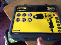 New Stanley fat max heat gun.