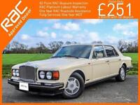 1990 Bentley Eight 6.8 4 Door Saloon Auto LHD Only 38,000 miles from New Petrol
