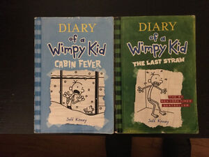 Diary of a Whimpy Kid and other books for sale