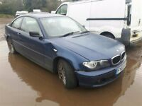 2003 BMW 3 SERIES 318CI SE NOW BREAKING FOR PARTS