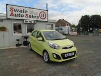 62 KIA PICANTO 1.2 3 - 62835 MILES - IDEAL FIRST CAR - GREAT CONDITION