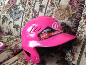Girls batting helmet 3-7yrs