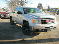 2009 GMC SIERRA 1500 4X4 CREW CAB $22,995 CERT AND E-TESTED