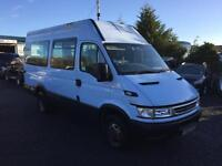 Iveco DAILY 40C12 13 seat twin axel minibus only 49,000 miles
