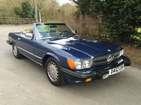 1987 - VERY RARE LEFT HAND DRIVE - MERCEDES 560 SL ROADSTER AUTOMATIC
