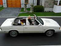 Chrysler Lebaron convertible 1984