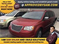 """TOWN AND COUNTRY - TEXT """"AUTO LOAN"""" TO 519 567 3020"""