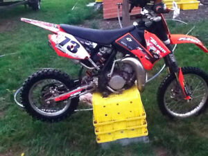 2009 85KTM WITH A 105 BIG BORE KIT FOR SALE