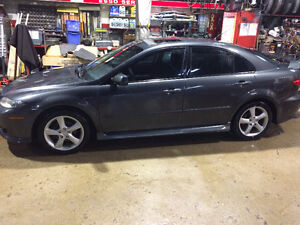 2005 MAZDA 6 GS HATCHBACK/ NO RUST KANSAS CAR $4995 CERT, E-TEST