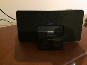 Philips iPhone speaker/radio