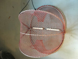 Prawn trap  & 400ft leaded line.  Brand new