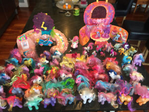 Huge Lot of My Little Pony - including Two Huge Playsets!