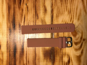 20 MM Silicone Watch Strap. Size Large
