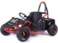 STOMP MAD MAX off-road buggy Go-kart electric 48v Rocker quad pit bike Red BMX