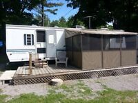 Trailer for sale on Kawartha Lake