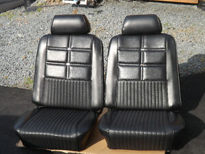 69-70 FORD MUSTANG GRANDE LOW BACK BUCKET SEATS