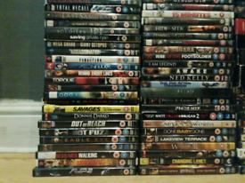 Dvds over 160 action/thriller