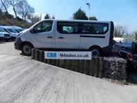 Vauxhall Vivaro 115PS,9 seat lwb minibus,a/con.