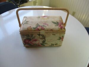 Sewing Basket with Lots of Notions