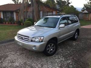 2005 Toyota Kluger 4x4 7 Seater  Luxury Automatic leather Rooty Hill Blacktown Area Preview