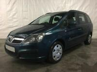 2007 Vauxhall Zafira 1.6i 16v Life MPV 5dr *** Full Years MOT *** Cheap Cars