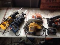 Power tools . Trade for ground blind
