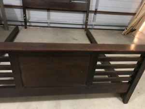 Queen bed frame delivery available
