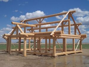 Log Post and Beam Package