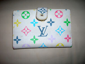 Louis Vuitton Murakami Viennois Kisslock Wallet M61663 Rare