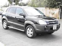 Hyundai Tucson 2.0 16v CDX, Black, 2005, FSH, 1 Years Mot, 6 Months Warranty