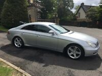 2006 MERCEDES BENZ CLS 500 V8 4 DOOR COUPE FMBSH UNMARKED CONDITION PX SWAP