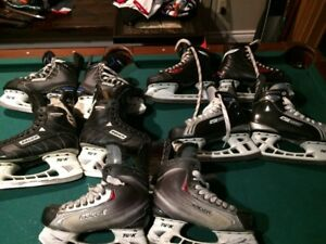 Adult hockey skates Bauer and CCM