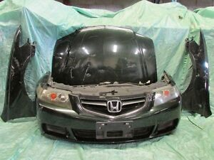 JDM Acura TSX Front End Conversion Bumper Fender Headlight Hood