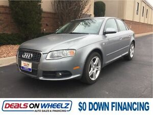 2008 AUDI A4   AWD     FINANCING AVAILABLE !